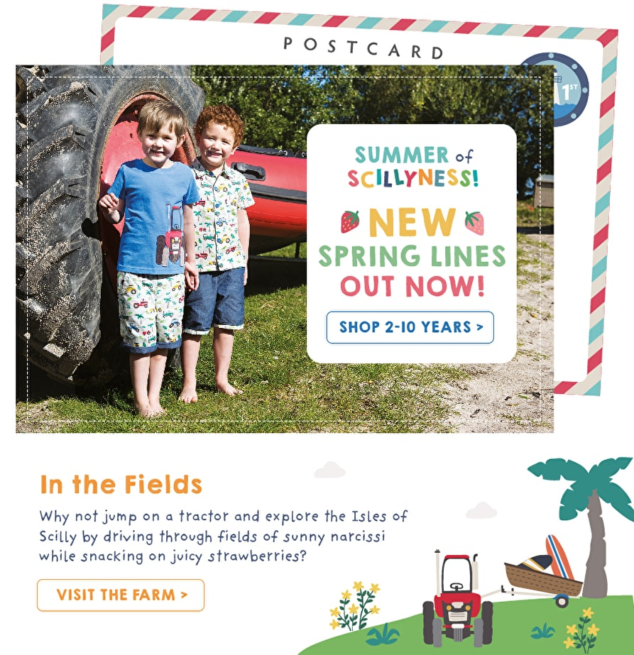 NEW spring lines out now! Shop Kids Clothing