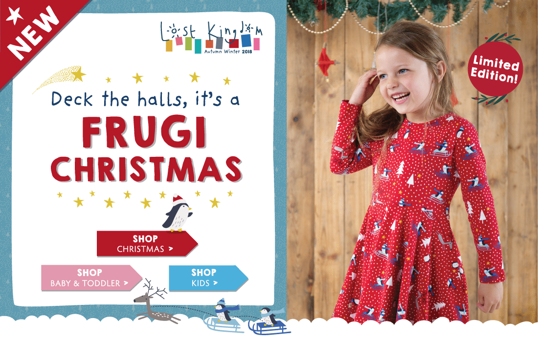 Deck the halls, it's a FRUGI CHRISTMAS!