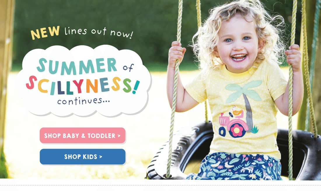 NEW lines out now! Welcome to a Summer of Scillyness!