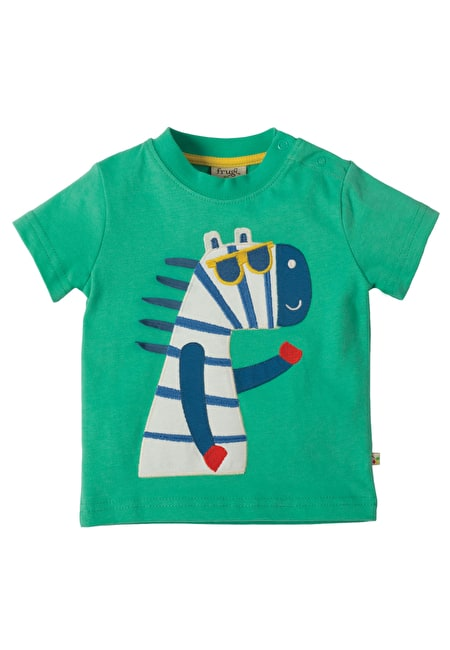 Little Polkerris Applique T-shirt