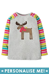 Jodi Applique Raglan Top