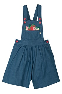Chambray Culotte Dungaree
