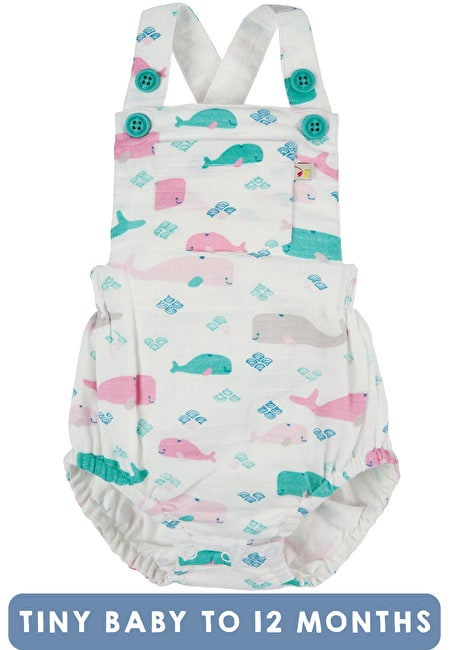 Mabel Muslin Dungaree My First Frugi Collections Baby Clothes