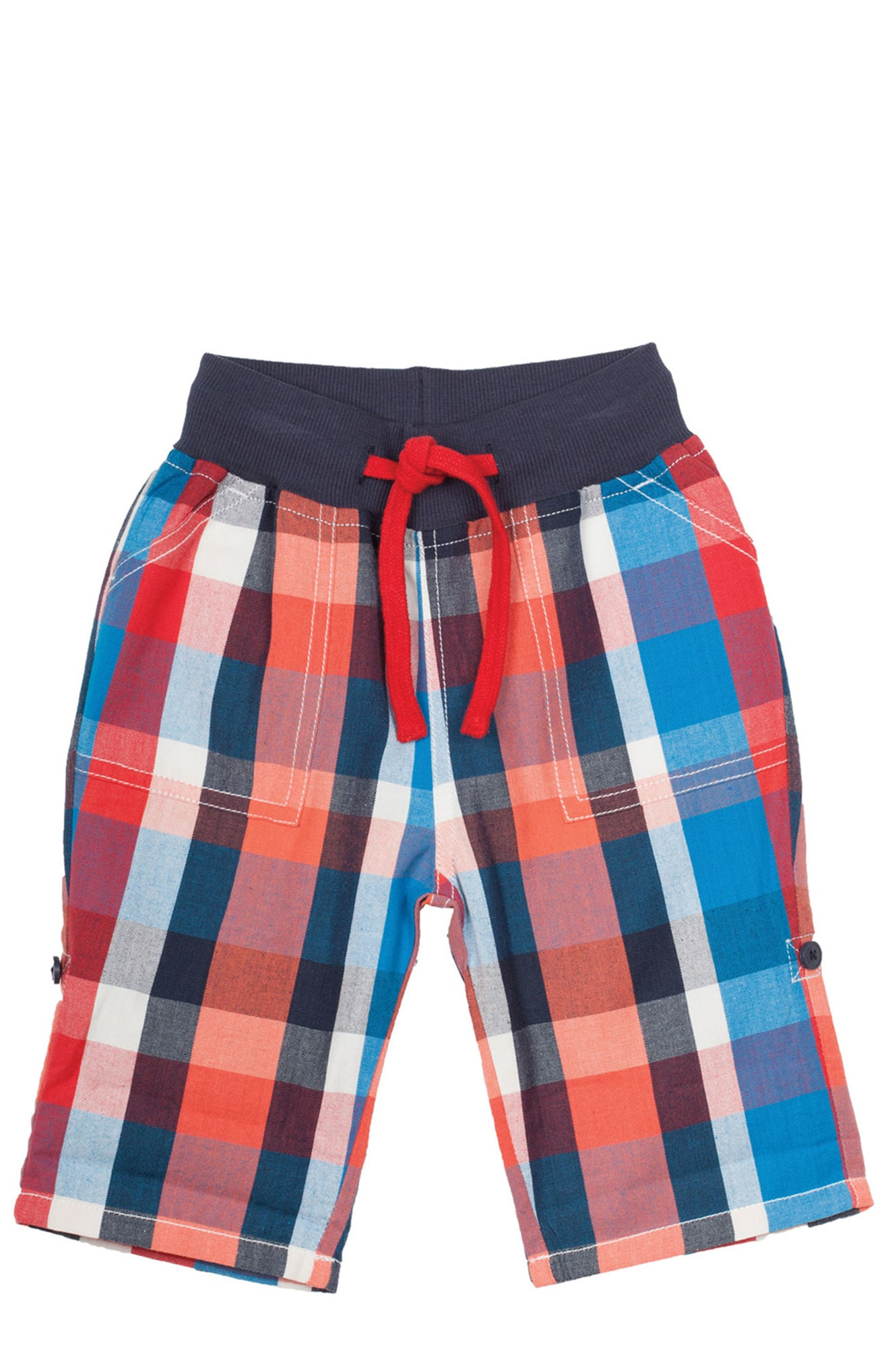 Stockists of Check Roll Up Trousers