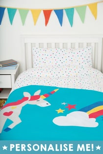Snoozy Single Applique Duvet Set