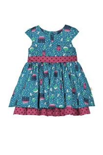 Little Twirly Bow Dress