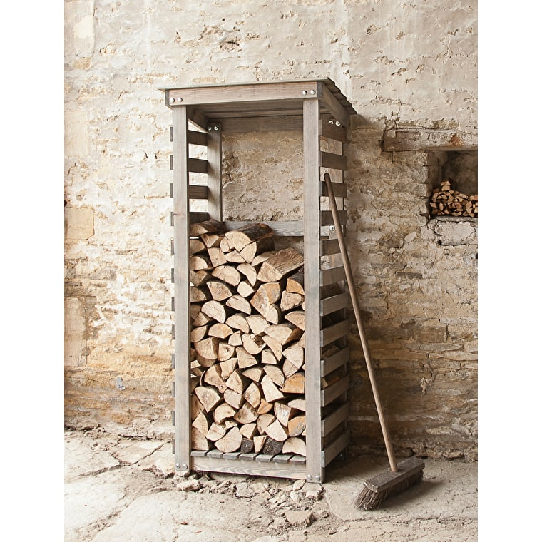 Wooden Aldsworth City Log Store | Garden Trading