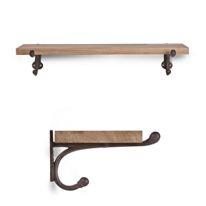 Cast Iron Bracket Shelf