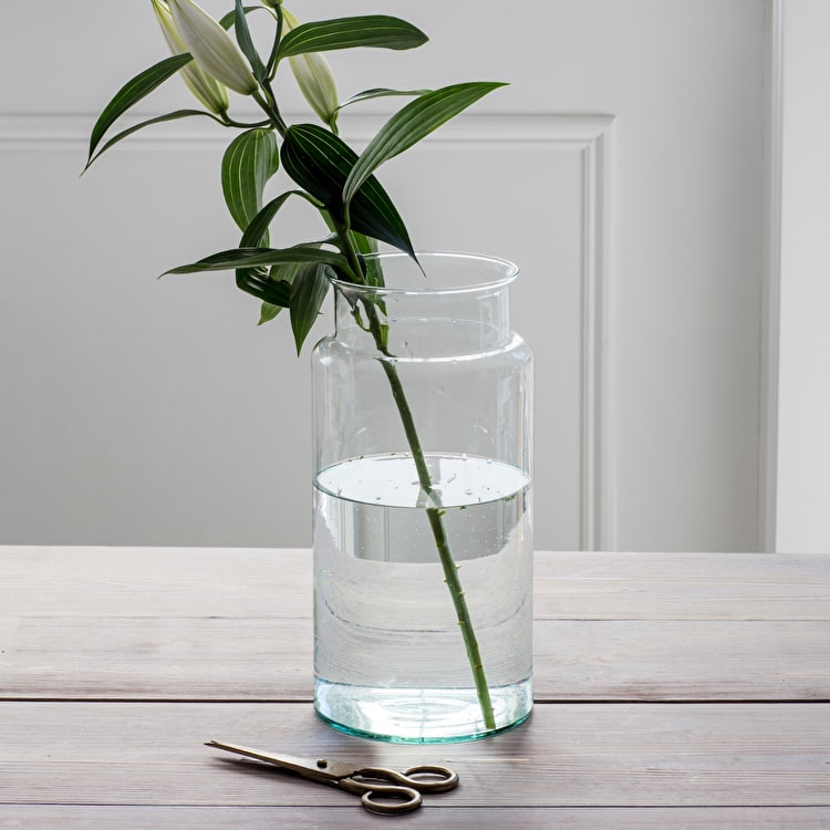 Recycled Gl Tall Broadwell Vase | Garden Trading on cheap tall plants, cheap tall planters, cheap mirrors, cheap bowls, cheap flowers, cheap window boxes, cheap tall candlesticks, cheap vase lights, cheap tall glass cylinders,