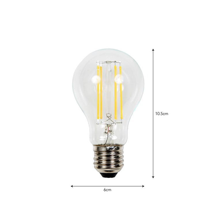 LED E27 GLS 7W 2700K Light Bulb | Garden Trading