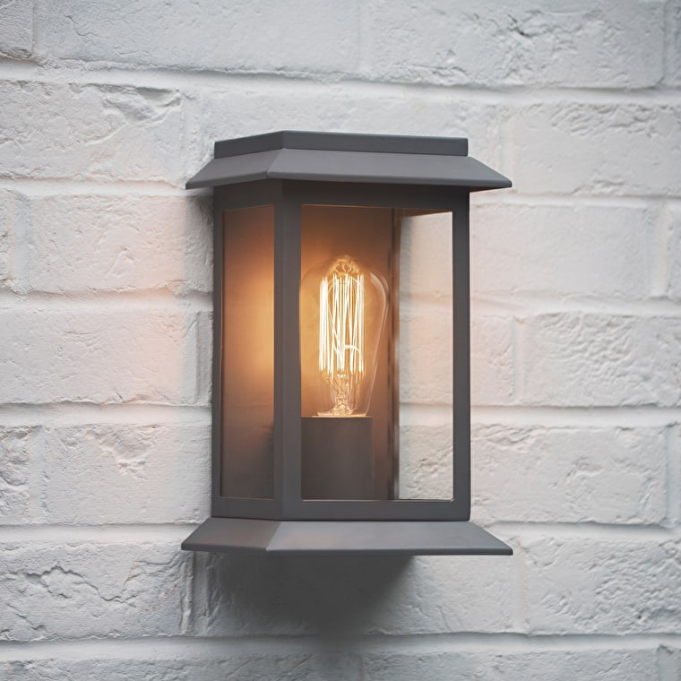 Grosvenor Outdoor Light in Grey, Black or Bronze | Garden Trading