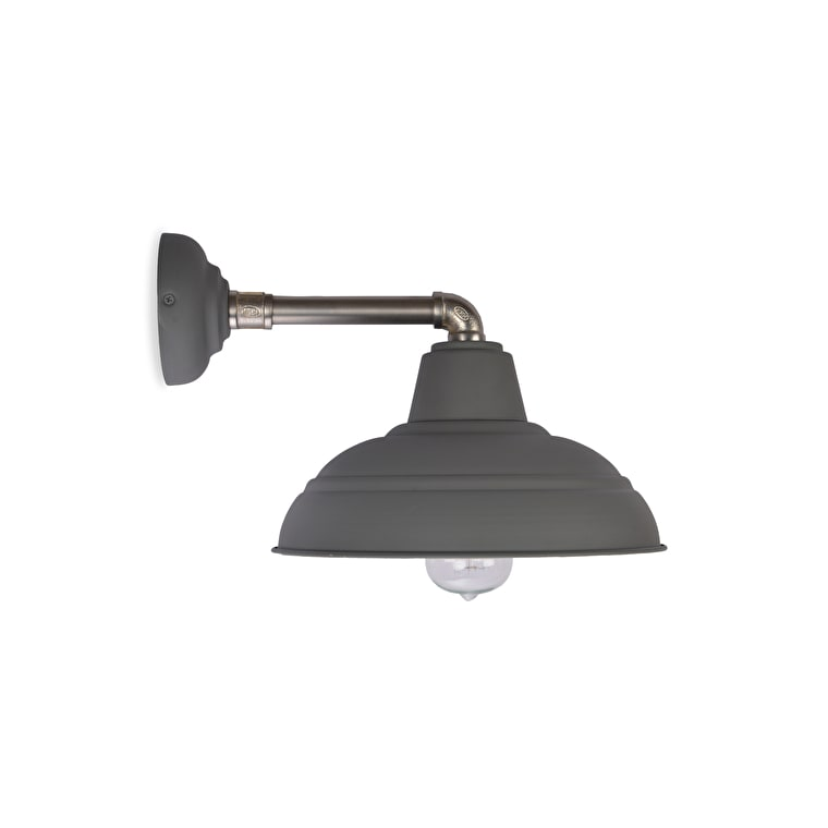 Southwark Indoor Wall Light in Grey | Garden Trading