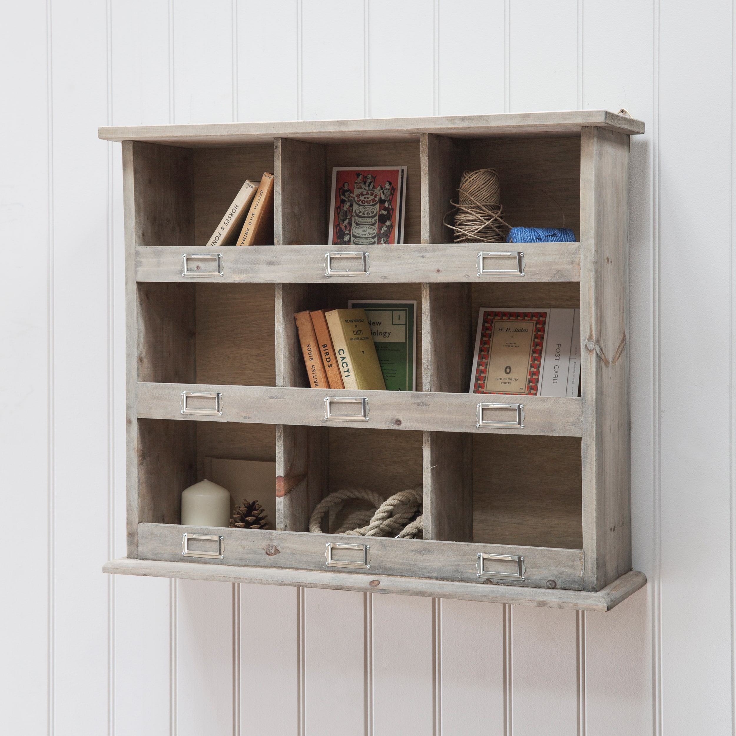 Wooden Chedworth Wall Unit | Garden Trading