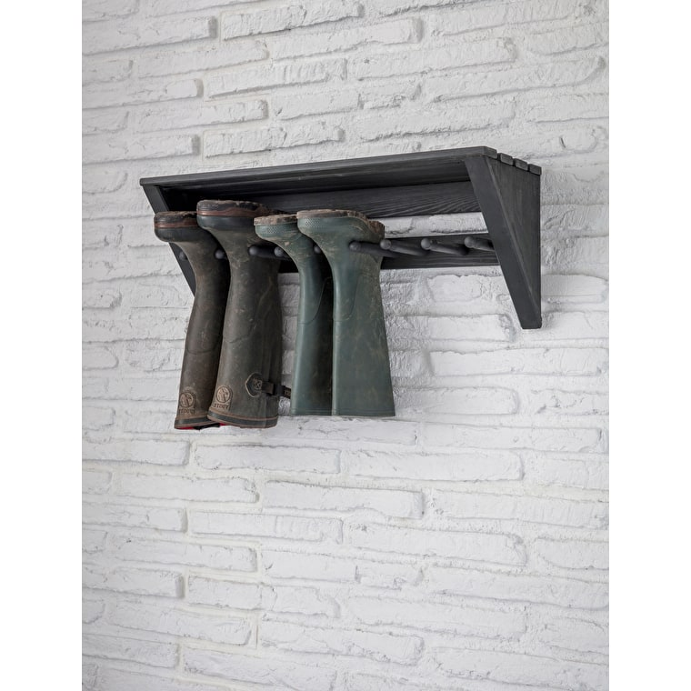 Wooden Latchmere Welly Rack | Garden Trading