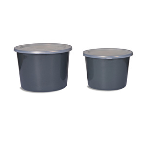 Set of 2 Food Pots