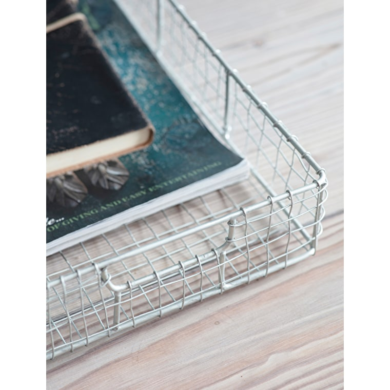 Wirework Camden Desk In-Tray | Garden Trading