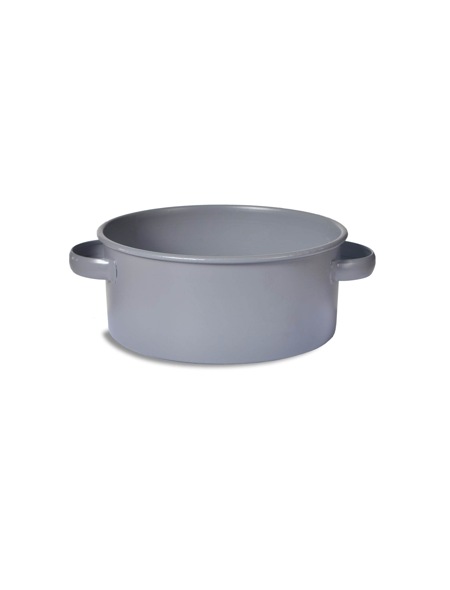 Steel Round Pet Bowl in Grey in Small or Large | Garden Trading