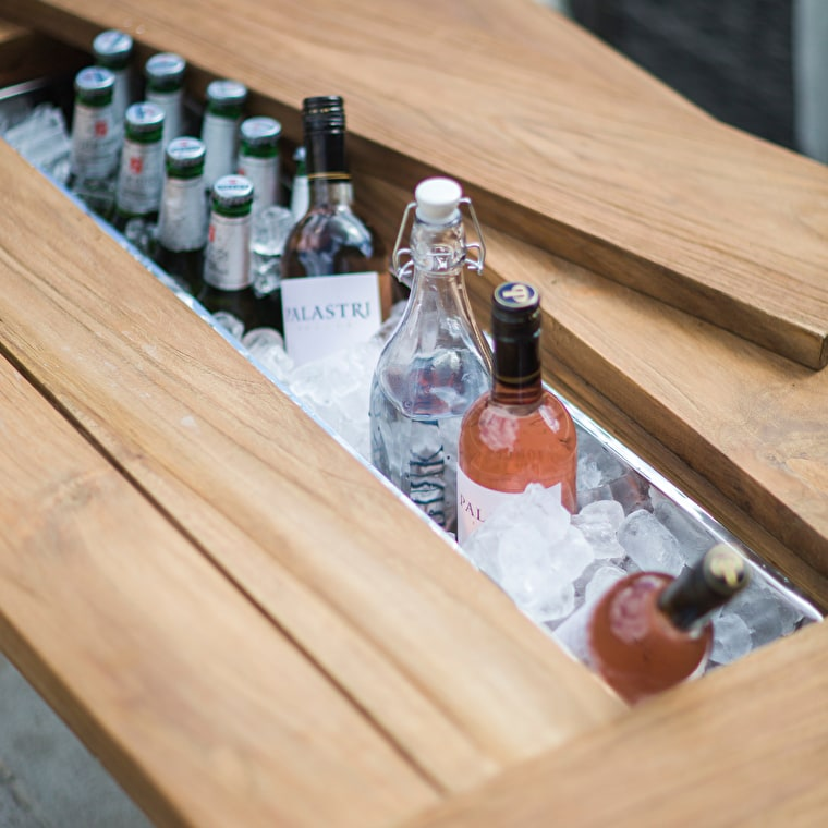 Galvanised Ice Trough and Drinks Planter  | Garden Trading