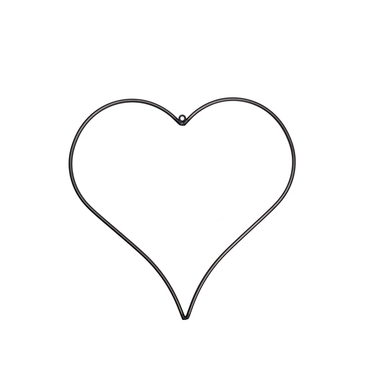 Steel Farringdon Heart | Garden Trading