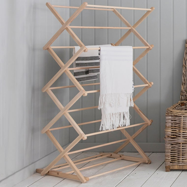 Wooden Folding Wooden Clothes Horse  | Garden Trading