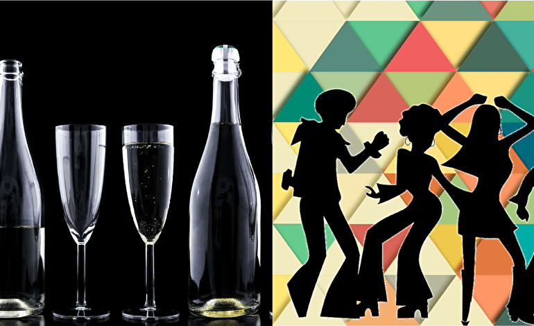 New Year's dilemma – '80s party or fancy dinner? Default
