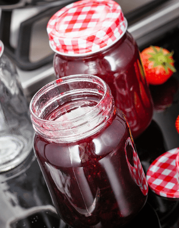 Recipe: raspberries Jam