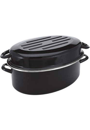 Judge Induction  Oval Roaster enamel