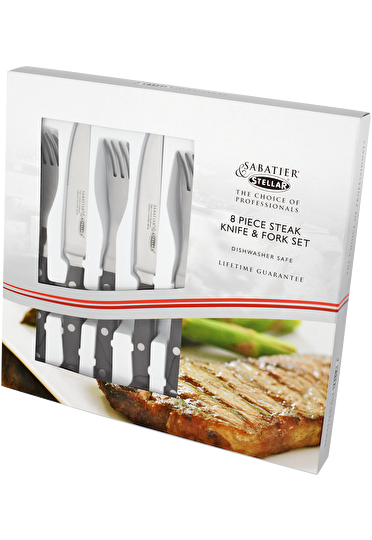 Stellar Sabatier IS Steak Knife & Fork Set