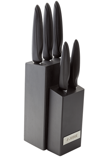Judge Sabatier IP 5 Piece Knife Block Set