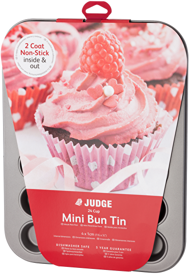 Judge Bakeware  Mini Bun Tin Non-Stick