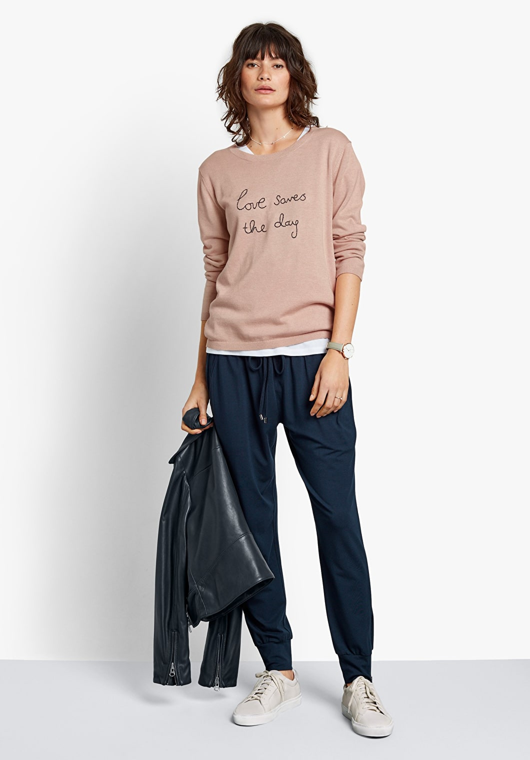 Love Saves The Day Jumper | hush