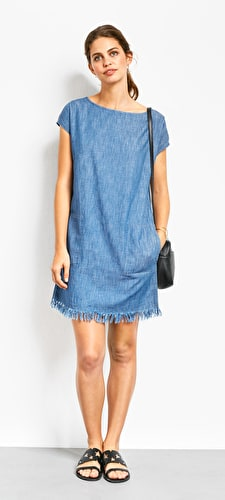 Zinnia Chambray Dress