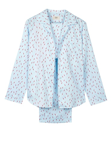 Lightning Bolt Cotton Pyjamas
