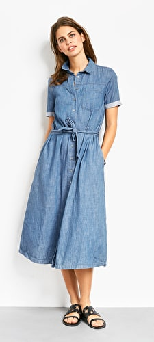 Nicole Chambray Dress