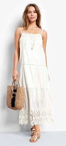 Aria Embroidered Dress