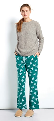 Rooster Flannel PJ Trousers