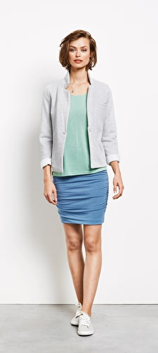 Modal Ruched Skirt