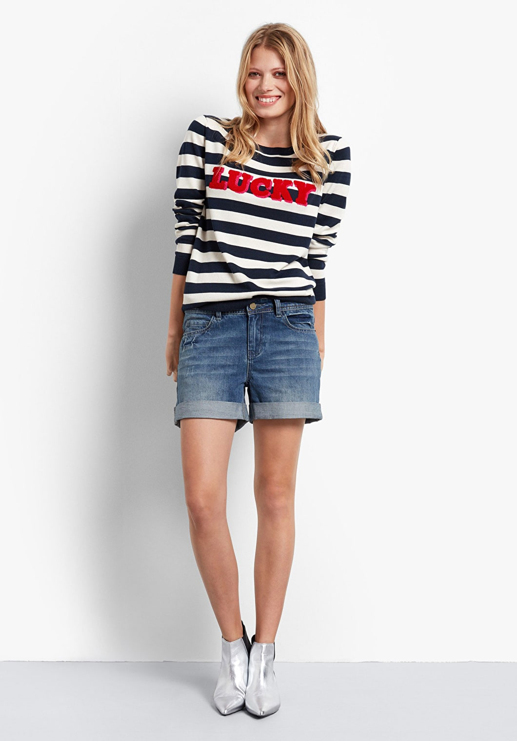 Lucky Stripe Jumper | hush