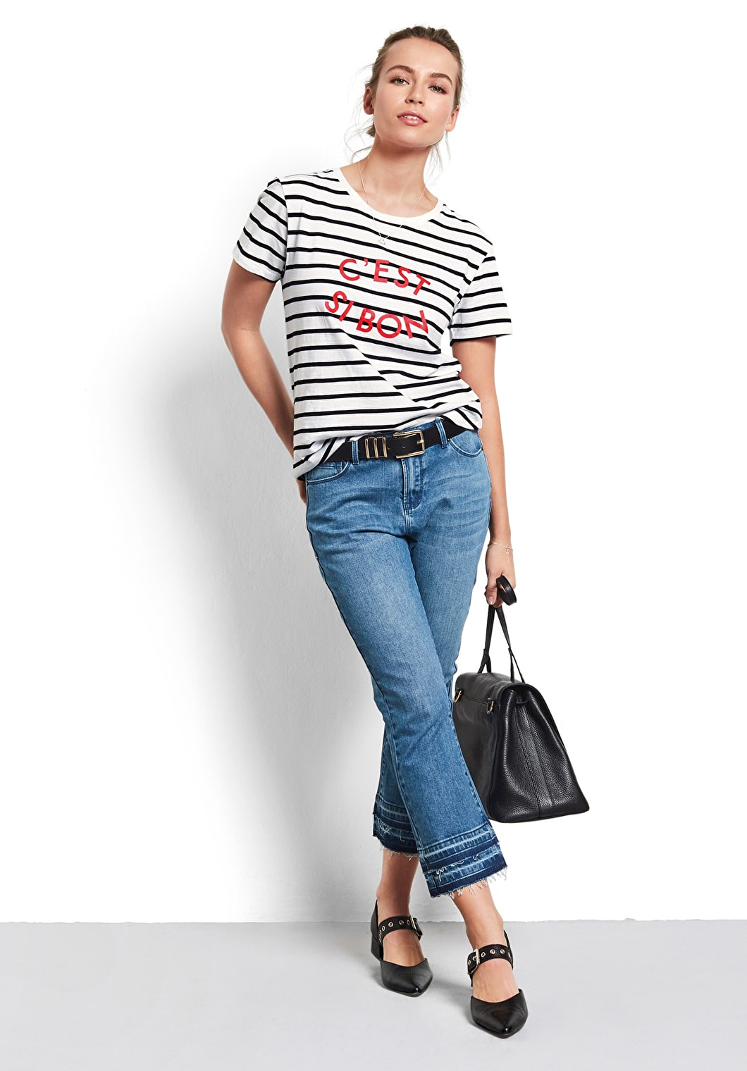 C'est Si Bon Striped Tee | hush