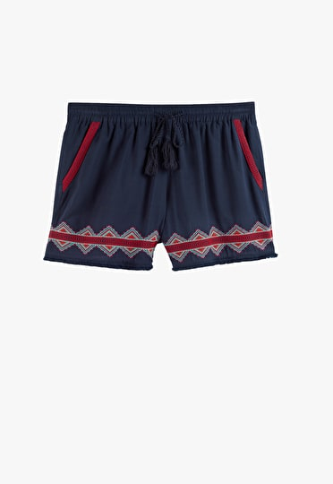 Emery Embroidered Shorts