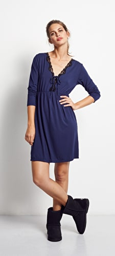 Jersey L/S Nightie