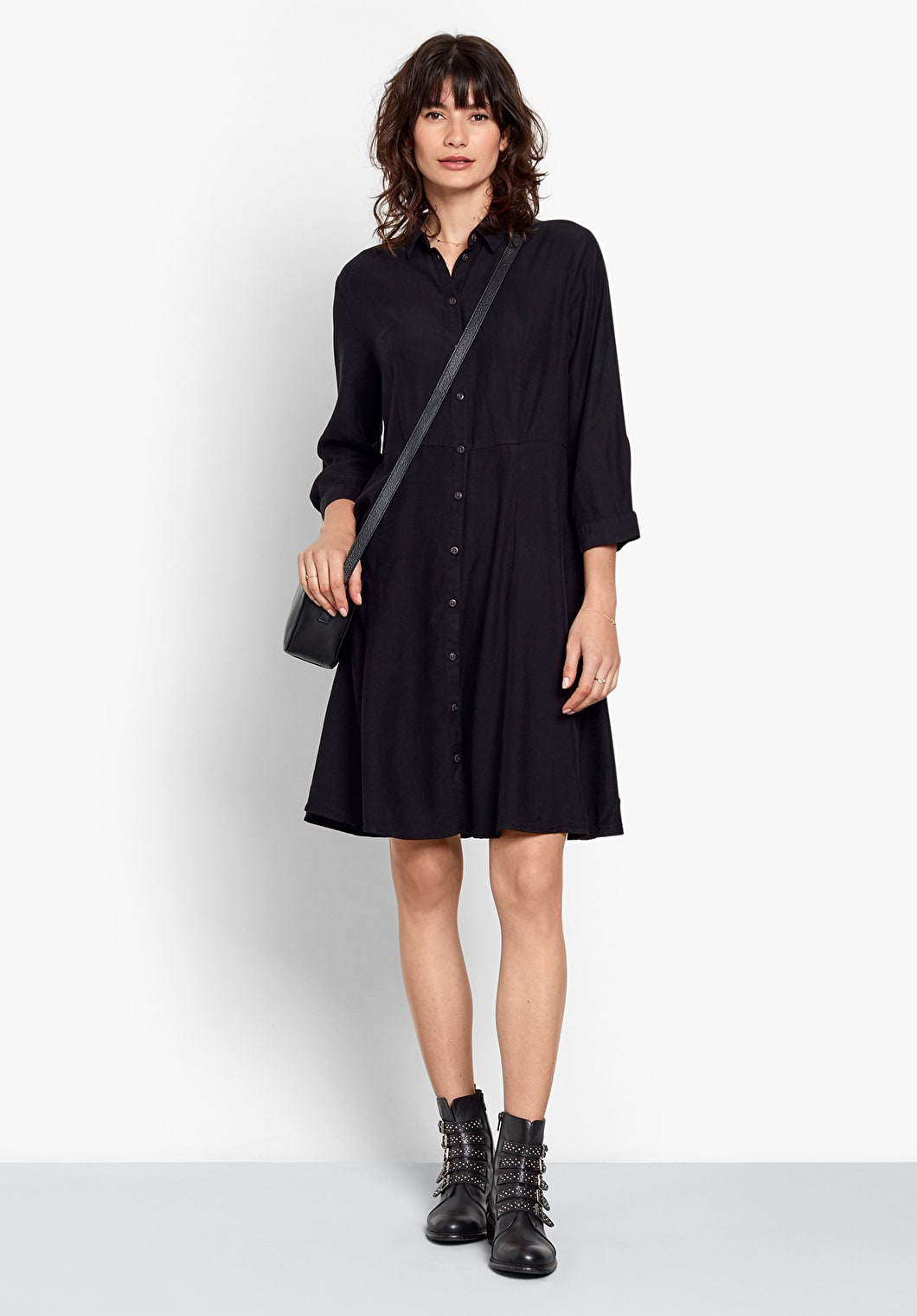 Domino Shirt Dress | hush