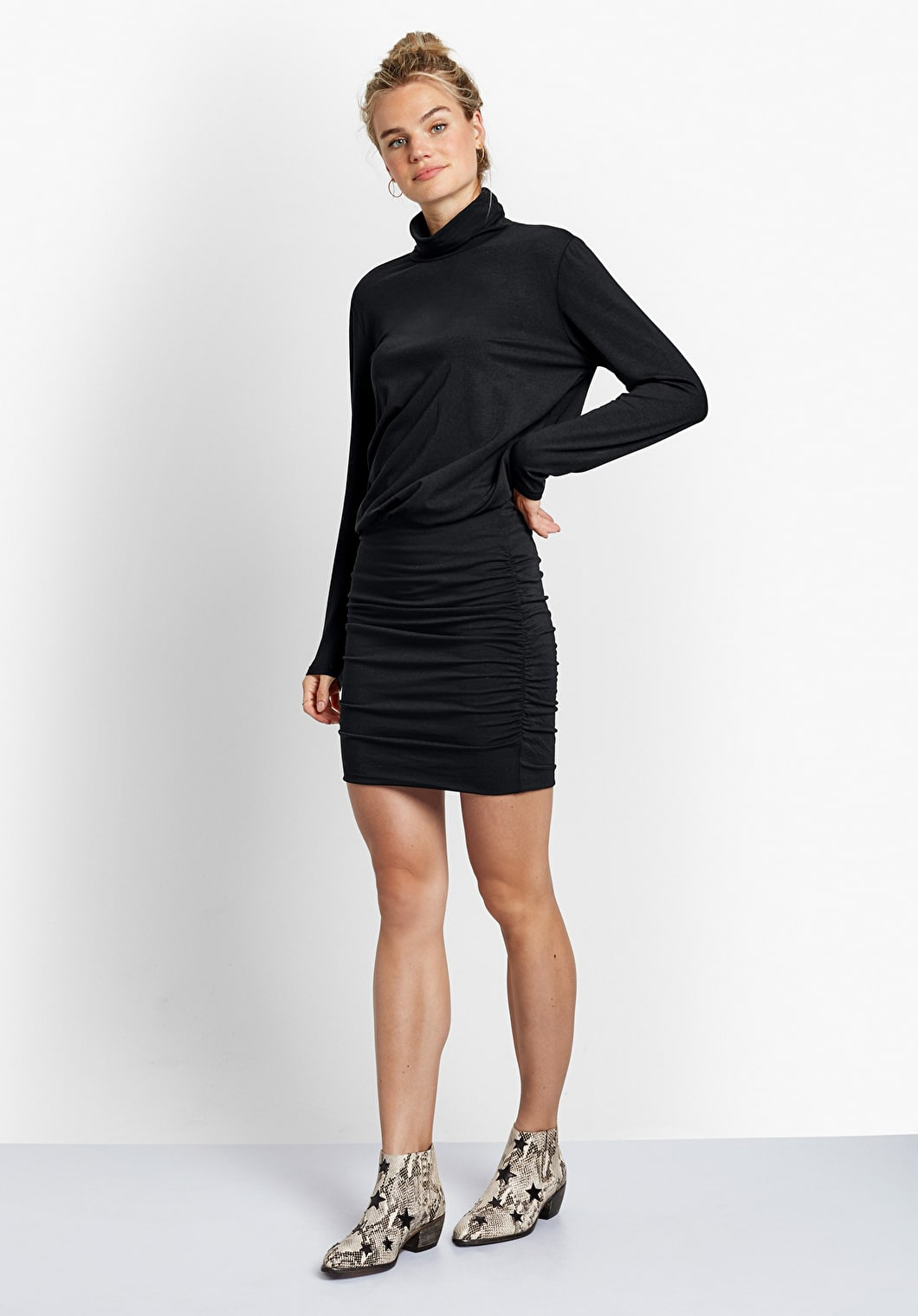 Polo Neck Tara Dress | hush