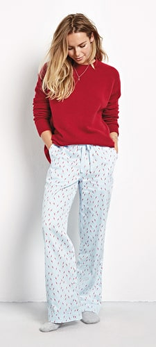 Lightning Bolt Cotton PJ Trousers