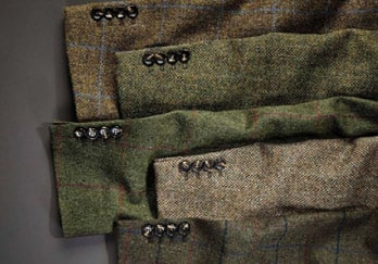 Range of tweeds