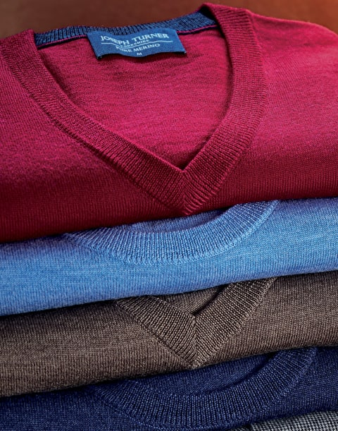 100% Merino Wool Knitwear. A Smart Choice.