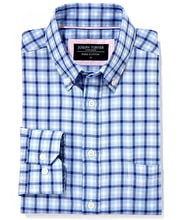 Button-Down Oxford Shirt - Blue/Navy
