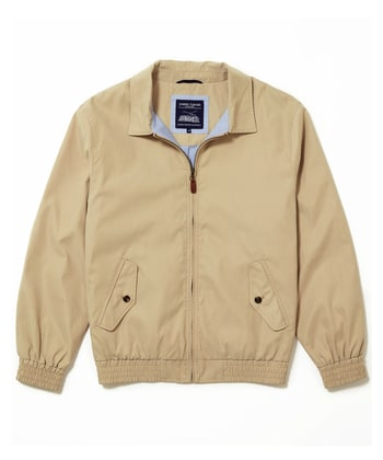 Harrington Coat - Sand
