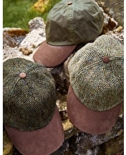 Baseball Cap - Dark Green Tweed