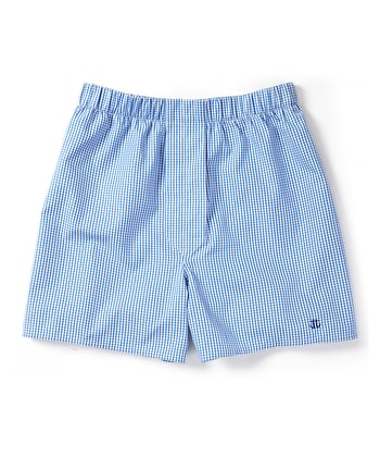 Boxer Shorts - Blue Gingham Check